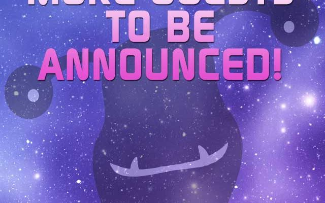 More guests to be announced graphic.