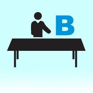 Dealer B table graphic