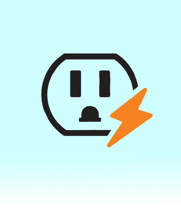 Power outlet graphic